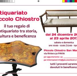 cd4e37ea5676 Piccolo Chiostro San Mauro – Mercatino dell antiquariato -  ConPavia