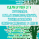 30.03.2019: Clean Up Your City